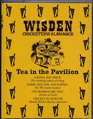 Wisden Cricketers Almanack: Tea in the Pavillion