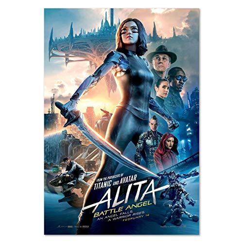 Printing Pira Alita Battle Angel Movie Poster - Theatrical Art - 2019 Film (24x36)