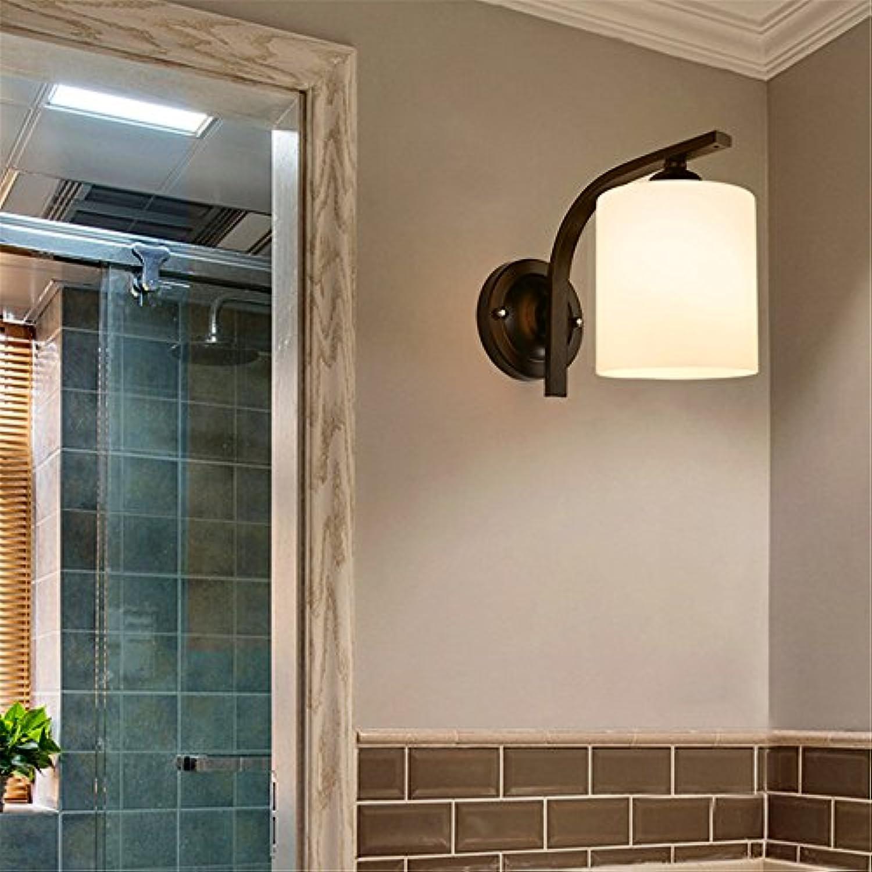 StiefelU LED Wandleuchte nach oben und unten Wandleuchten Kopf aus Glas Wandleuchte Schlafzimmer Wand Lampe gang Hyun aus Wandleuchten (BA 49)
