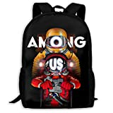 among with us crewmate Backpack Laptop Bag Travel Bag Fashionable Awesome Gift -04