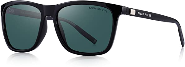 MERRY'S Polarized Sunglasses for Women Aluminum Men's Sunglasses Driving Rectangular Sun Glasses for Men/Women