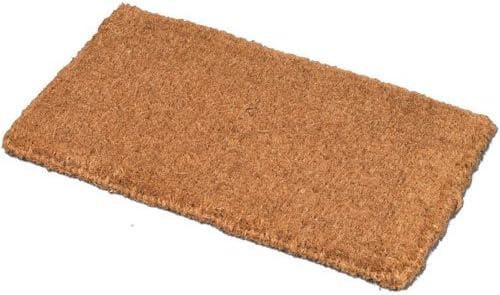 JVL - Felpudo (Fibra de Coco y PVC, 40 x 70 cm), Color marrón: Amazon.es: Hogar