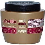 Echosline Seliàr Curl Mask – Maschera Controllo Ricci Con Miele E Olio Di Argan - 500 ml