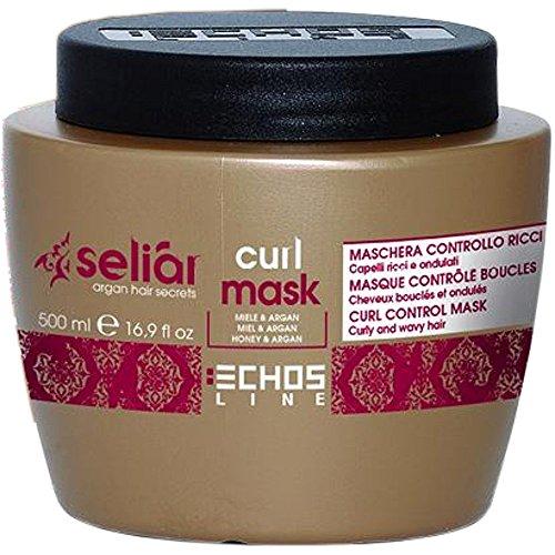 Curl Control Mask with Honey and Argan Oil 500 ml Seliar ® Masque contrôle boucles avec miel et huile d'argan