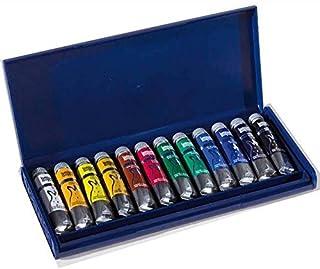 Industria Maimeri 2598440 Colori a Tempera 12 tubi assortiti