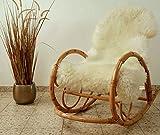 Zaloop Merino Schaffell Lammfell Fell echt groß 120-130 cm weiß