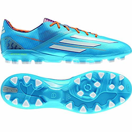 adidas F50adizero trx AG Solar blue f32780, hombre, F50 adizero TRX AG, Blau (Solar Blue/Solar Zest/Running White), 7,5 UK - 41,1/3 UE ⭐