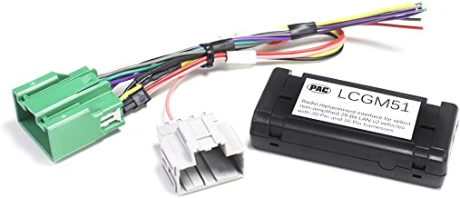 PAC LCGM51 Radio Replacement Interface for Select General Motors Vehicles