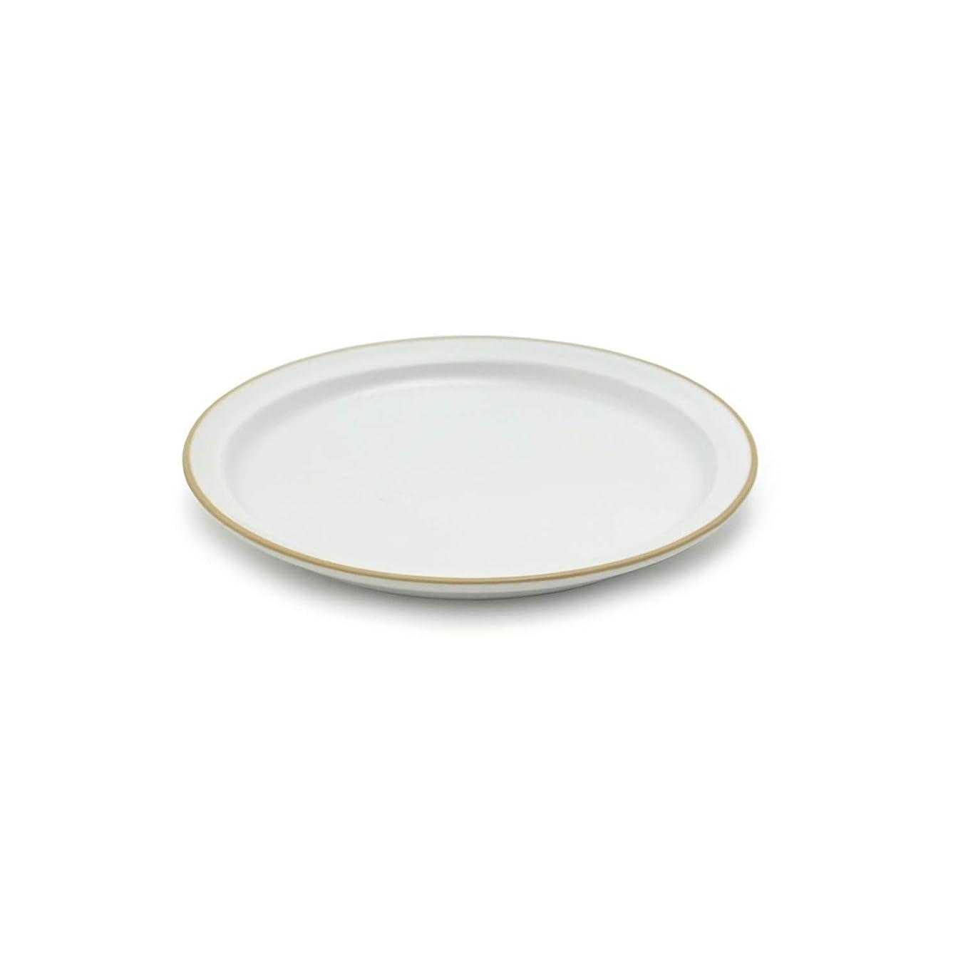 チャーターインシュレータ受信TAMAKI プレート エッジライン ホワイト 5個セット 直径14×高さ1.8cm 電子レンジ?食洗機対応 T-788417