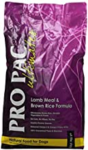Midwestern Pet Foods PRO PAC Ultimates Lamb Meal and Brown Rice Natural Formula Dry Dog Food, 5-Pound Bag by Midwestern