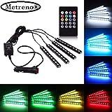 Metreno® MultiColor Music Controller, 4 in 1 Atmosphere Light, Car Strip Light Under