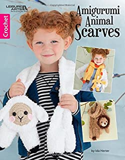 Amigurumi Animal Scarves-7 Crocheted Animal Scarves Make it Fun for Kids to Take Their Play Pal Everywhere they Go