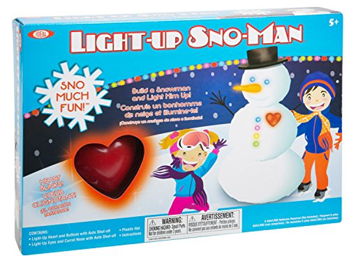 Ideal Sno Toys Light Up Sno-Man