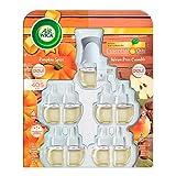 Air Wick Aromatizante De Ambiente Continuo Aparato Y Refill Pumpkin Spice Y Pear Crumble, color, 9 count, pack of/paquete de