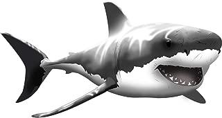 VWAQ Giant Great White Shark Wall Decal Peel and Stick Wall Art … (13