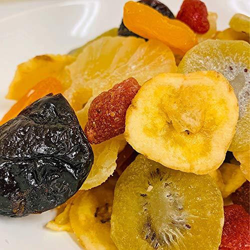 Eight Shop ドライフルーツ ミックス 6種 500g パイナップル ストロベリー アプリコット キウイ プルーン バナナ チャック付き袋