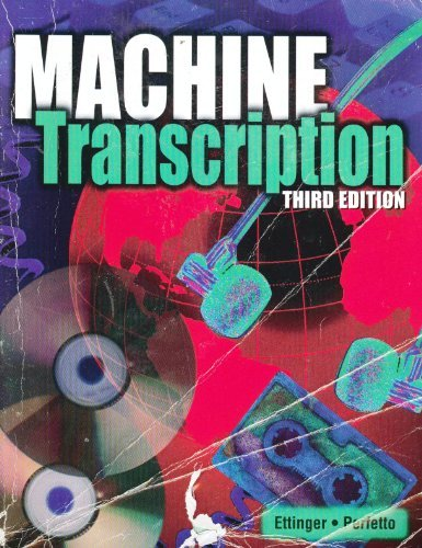 Machine Transcription: Applied Language Skills