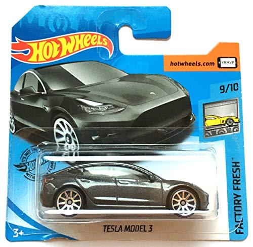 HW Hotwheels GHC05 - Tesla Model 3 grau metallic (Factory Fresh 9/10)
