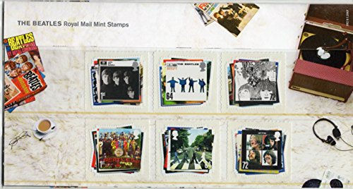 2007 The Beatles,francobolli in confezione da presentazione