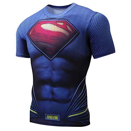 Towel Rings Avengers Super Heroes Camiseta De Compresión De Manga Corta Hombre Fitness Gym At The Shirt Fitness Gym Training Tops