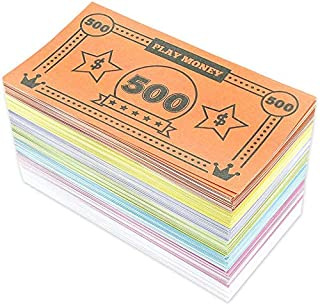 Movie Prop Money Full Print 2 Sided,Realistic Money 100 pcs 20 Dollar Bills for Movie,Teaching and Birthday Party