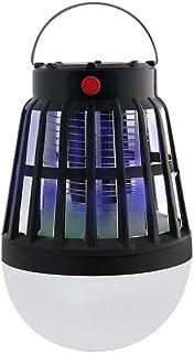 Jieer Lámpara Antimosquitos, Lámpara Recargable USB para Exteriores Repelente de Mosquitos Radiante Solar Sin Radiación Lámpara Antimosquitos