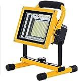 JFFFFWI Proyector LED 200W Luz de Punto LED Recargable con 6...