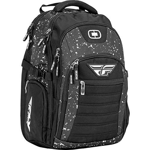 Fly Racing Carry-On Sports Duffle Bag - Black/Grey/Size 12' H X 12' W X 25' L