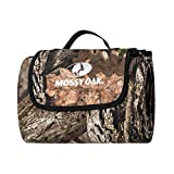 Mossy Oak Camo Picnic Blanket Foldable Extra Large Waterproof Beach Mat Outdoor - Made with Polyester - Official Licensed Product