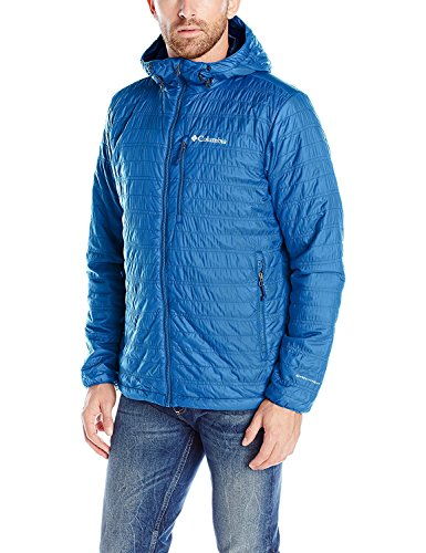 Columbia Men's Tumalt Creek Hooded Jacket, Marine Blue, Large