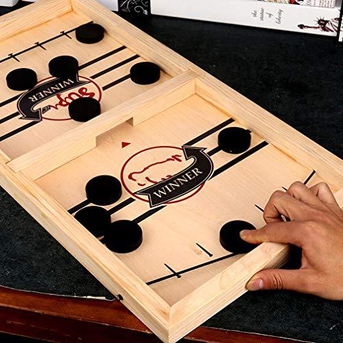 Tafelspelen snel slingshot ijshockey games, katapult spel speelgoed, kinderen en volwassen tempo kampioen bordspel speelgoed