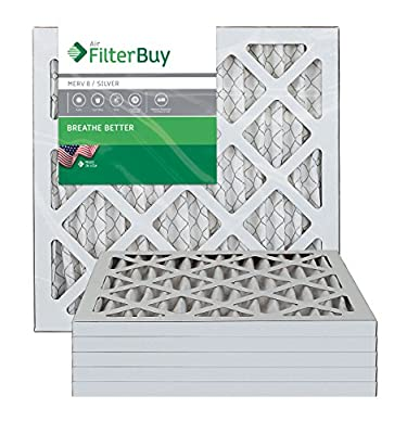 Furnace Filters/Air Filters - AFB Silver MERV 8 (6 Pack)