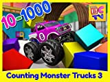 Counting Monster Trucks Part 3 - 1 to 1000