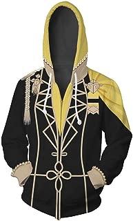 Fire Emblem Three Houses Claude von Regan Hoodie Hooded Coat Jacket Sweatshirt Costume Unisex