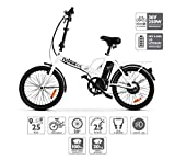 Nilox E Bike X1 New, Electric Bike, White, One Size