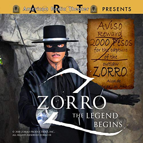 Zorro: The Legend Begins cover art