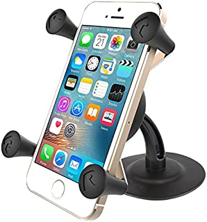 RAM Lil Buddy(TM) Adhesive Stick Base Mount with Universal X-Grip(TM) Cell Phone Holder