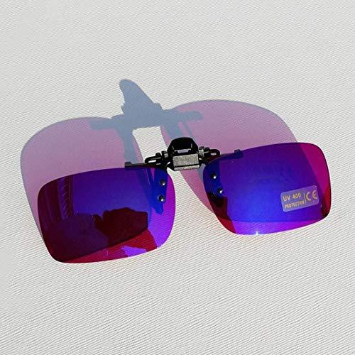 Daltónico Gafas, Gafas De Cristal Rojo Mover sobre El Clip En Color Rojo Verde For Ceguera Trabajo TP-18 93
