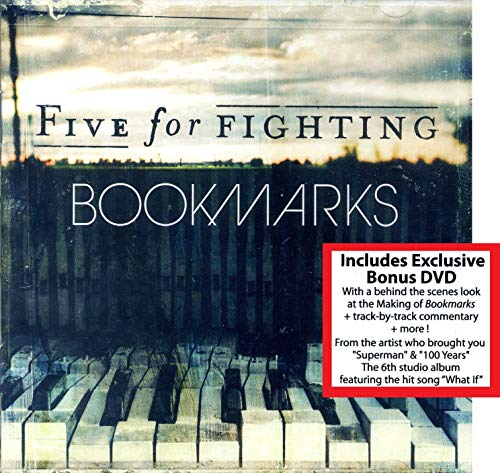 Bookmarks by Five for Fighting (2013) - with Exclusive Behind-the-Scenes Bonus DVD (+ Commentary) - CD