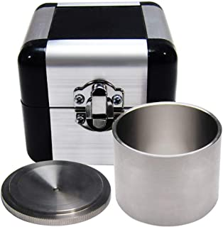 YUCHENGTECH Coating Specific Gravity Cup Stainless Steel Paint Density Determiner liquid pycnometer (37ml)