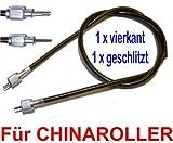TACHOWELLE MIT ÜBERWURF VERSCHRAUBUNG 1x4-Kant - 1xSchlitz/Gabel z.B. BAOTIAN QT-12 BENZHOU YIYING YY50QT REX RS RS4xx AGM GMX JINAN QINGQI SPEEDY QM50QT YIYING LONGJIA KYMCO LEIKE JMSTAR MKS HYOSUNG PEUGEOT KREIDLER RMC FLEX TECH TOPDRIVE YY50QT ERING ADLY RIEJU SUKIDA CHINA ROLLER 139QMA / 139QMB GY6