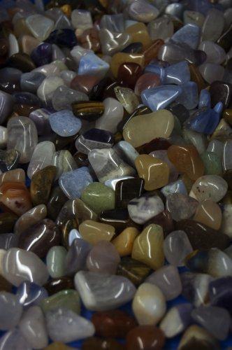 Amahoff mélange de pierres taille 1, 5–2 cm 250 g sachets à ordures