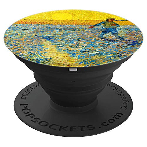 The Sower Painting Art Vincent Van Gogh Pop Mount Socket PopSockets Grip and Stand