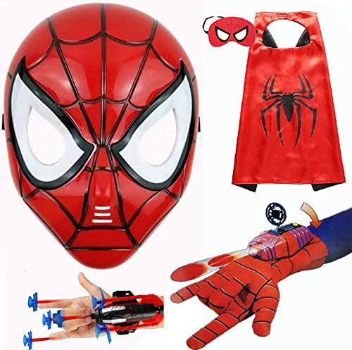 wholesale Children's Superhero Animer and price revision Toy Game Pack Cloak has Party LE
