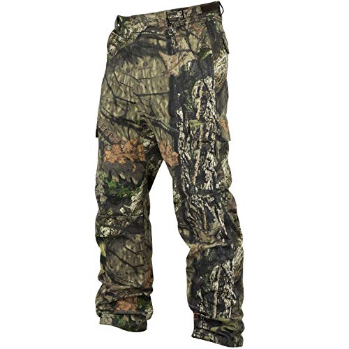 Mossy Oak Men's Cotton Mill 2.0 Camouflage Hunting Pant in Multiple Camo Patterns, Large