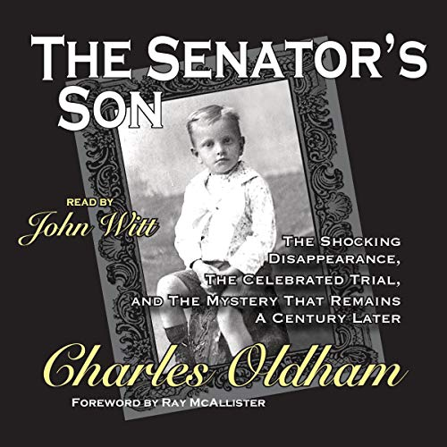 The Senator's Son audiobook cover art