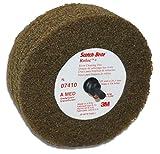 Scotch-Brite Rivet Cleaning Disc, 4 Inches x 1 1/4 Inch, Medium