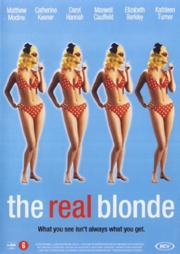 dvd - the Real Blonde (1 DVD)