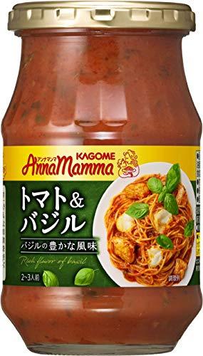 カゴメ アンナマンマ トマト&バジル 瓶1個