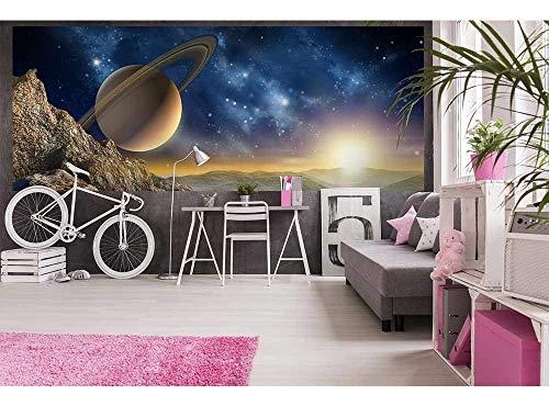 Vlies Fotobehang HEELAL | Niet-Geweven Foto Mural | Wall Mural - Behang - Reusachtige Wandposter | Premium Kwaliteit - Gemaakt in de EU | 375 cm x 150 cm